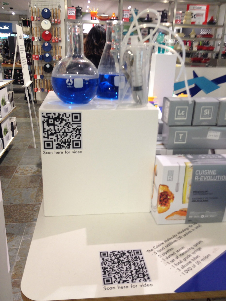 QR codes: the good, the bad and the ugly